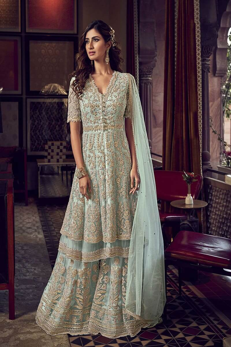 Designer Suits Snow White 6601 by Swagat Wedding Suits 6604