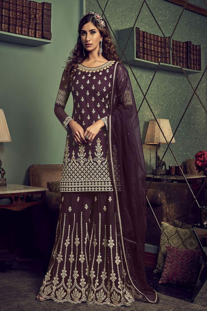 Designer Suits Snow White 6601 by Swagat Wedding Suits 6606