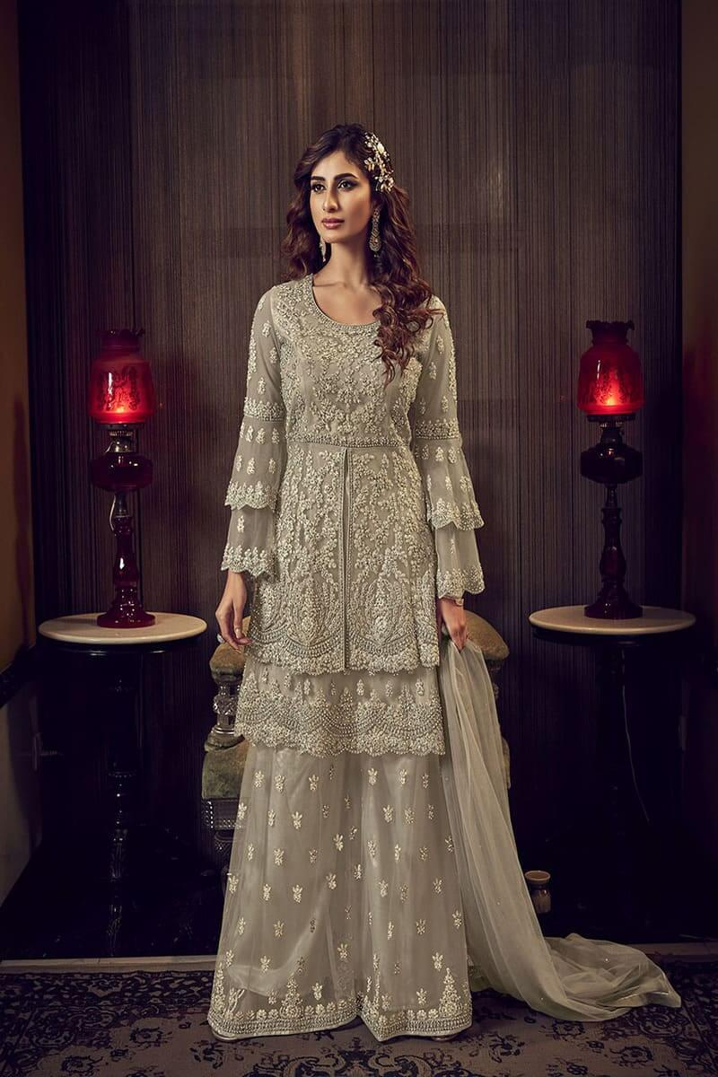 Designer Suits Snow White 6601 by Swagat Wedding Suits 6609