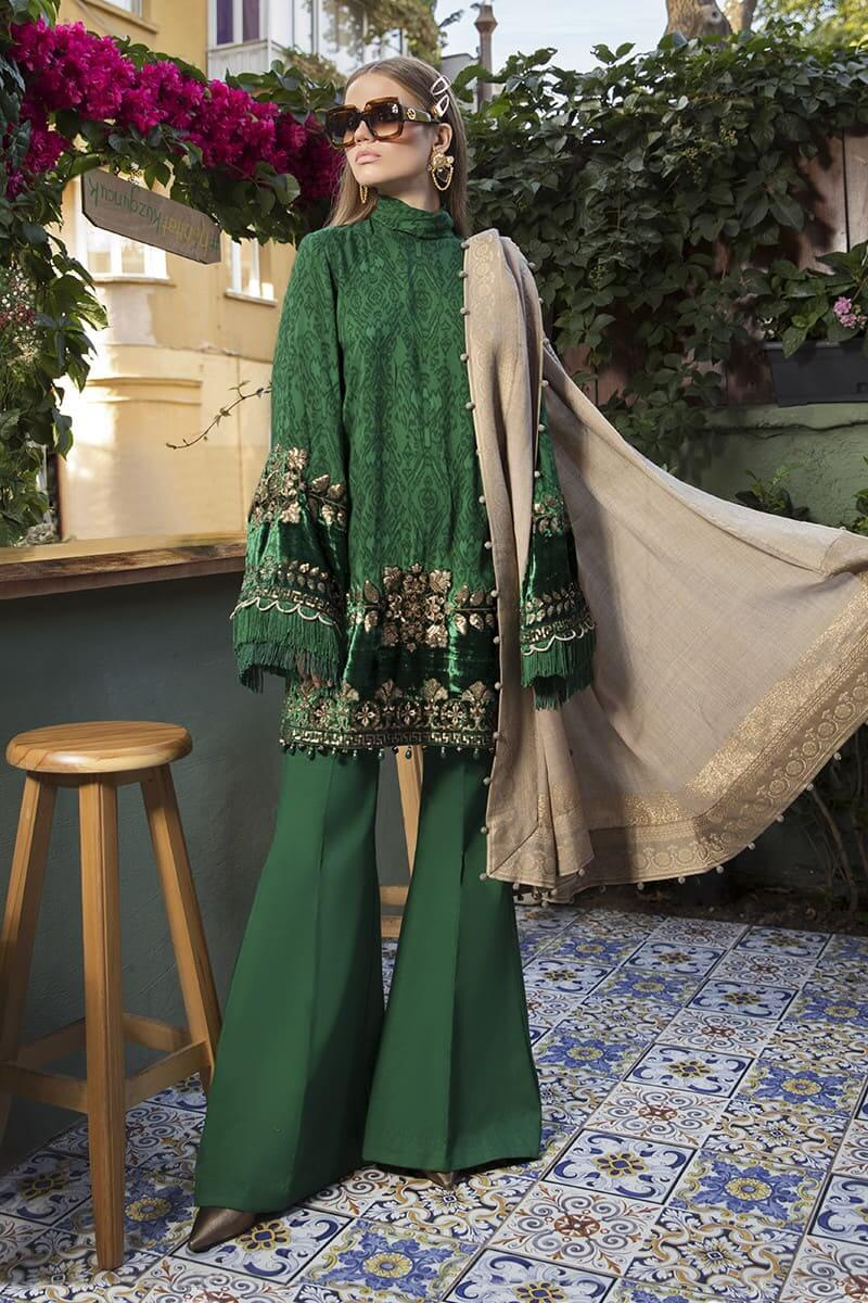MariaB Linen Winter Collection 2020 Pakistani Dresses DL-804
