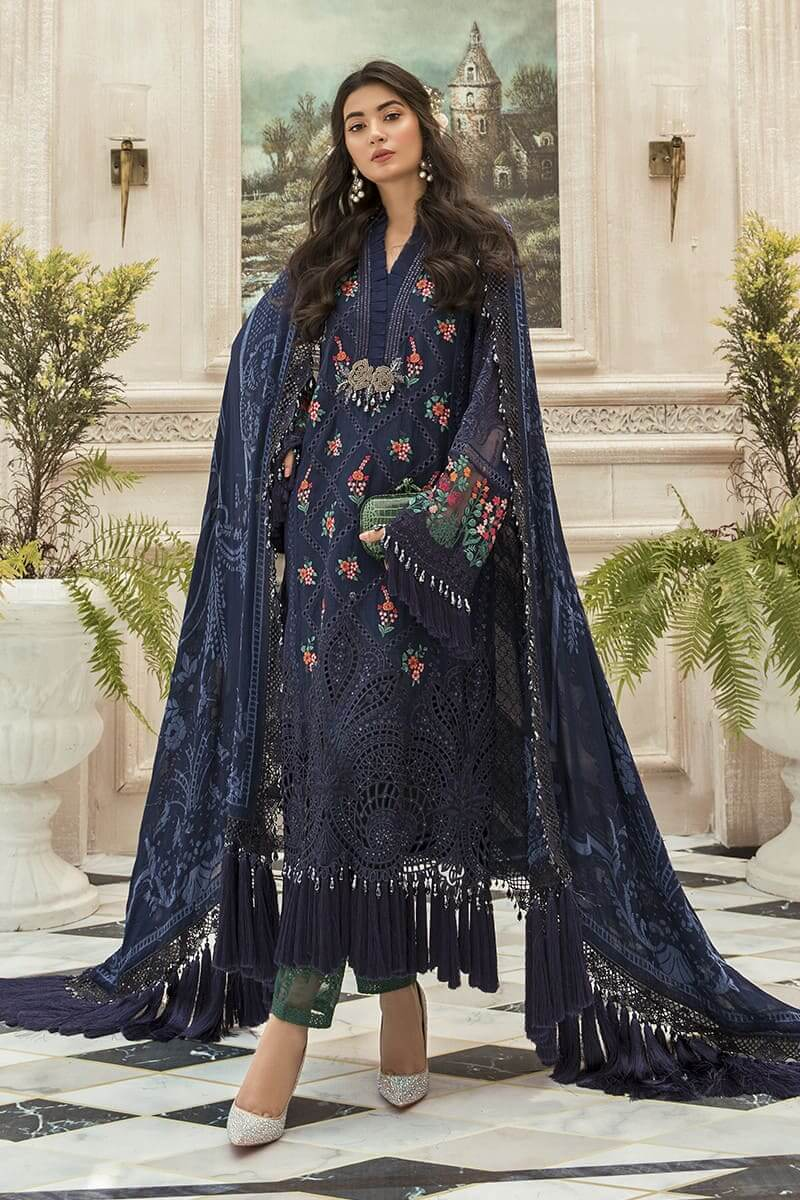 Maria B Mbroidered Eid Collection 2020 Salwar Kameez BD-1901