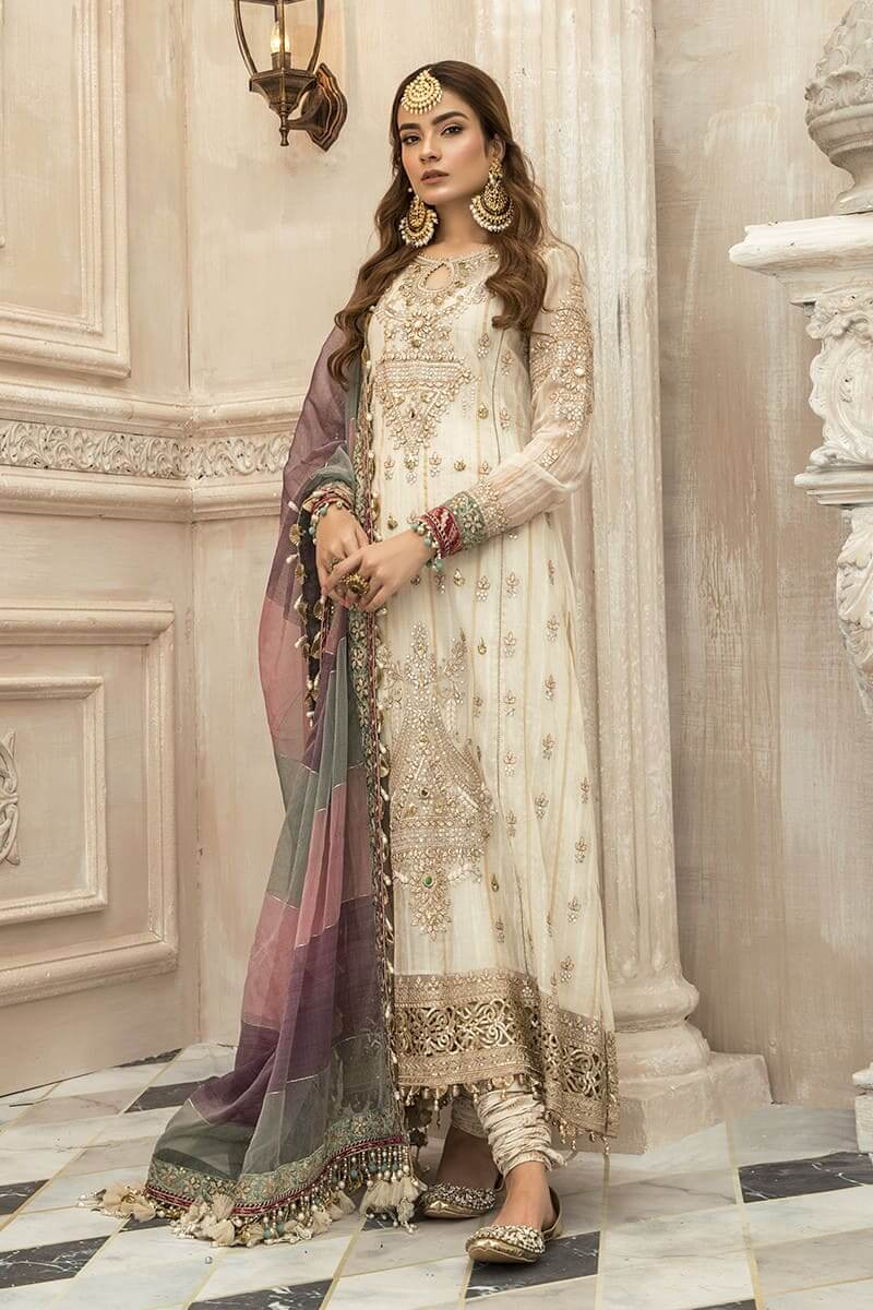 Maria B Mbroidered Eid Collection 2020 Salwar Kameez BD-1902