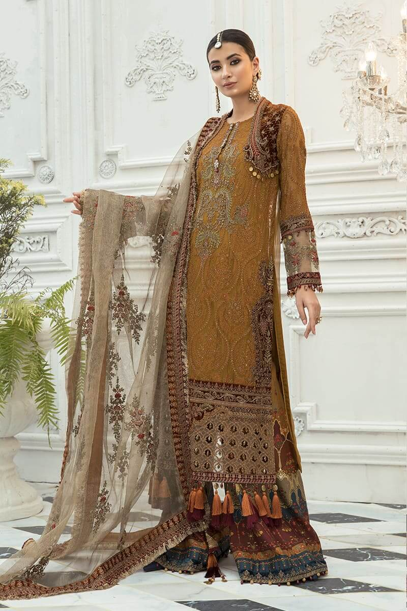 Maria B Mbroidered Eid Collection 2020 Salwar Kameez BD-1906