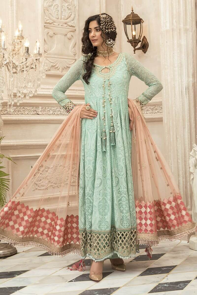 Maria B Mbroidered Eid Collection 2020 Salwar Kameez BD-1908