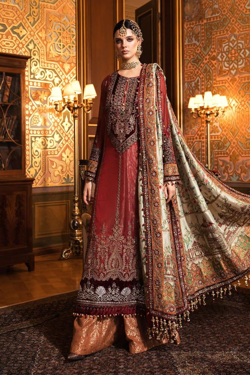 Mariab Mbroidered Wedding Collection 2020 Salwar Kameez BD-2006