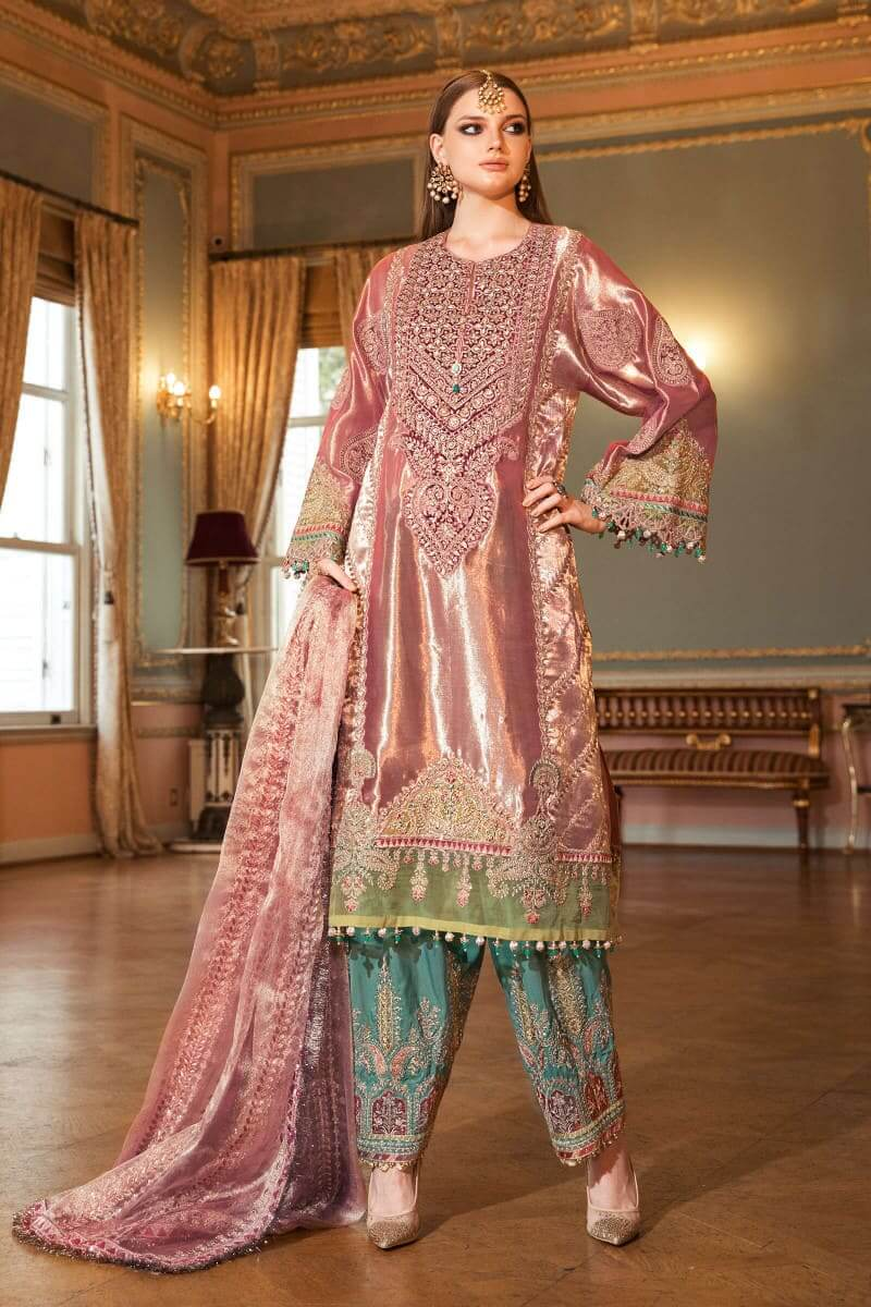 Mariab Mbroidered Wedding Collection 2020 Salwar Kameez BD-2008