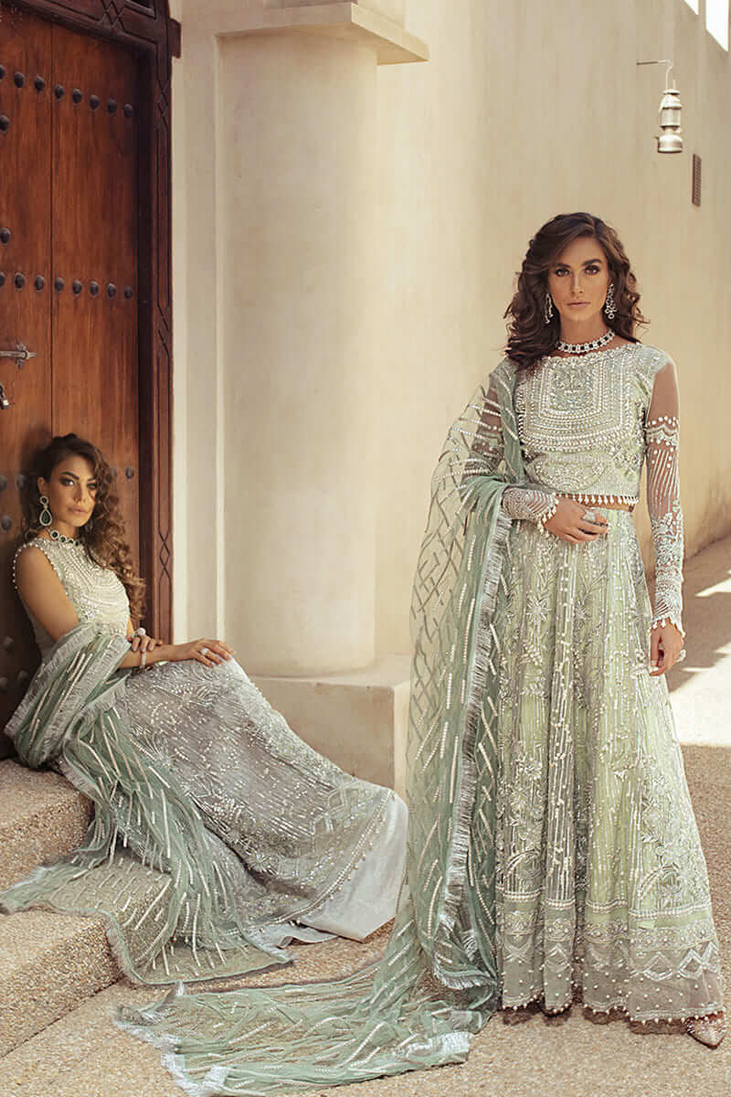 Mushq Trousseau De Luxe Wedding Collection 2020 Salwar Suits MTL20-6