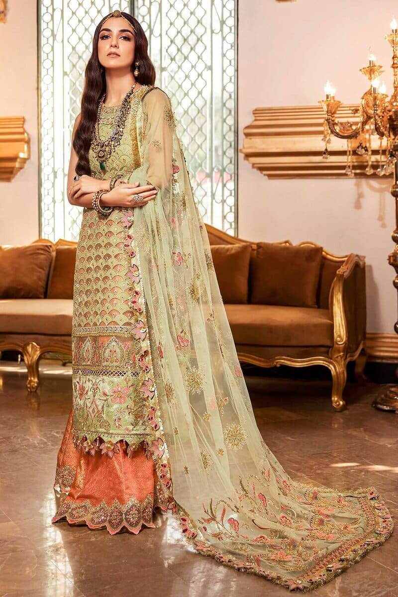 Noor Festive Collection 2020 By Saadia Asad Pakistani Suits D-1