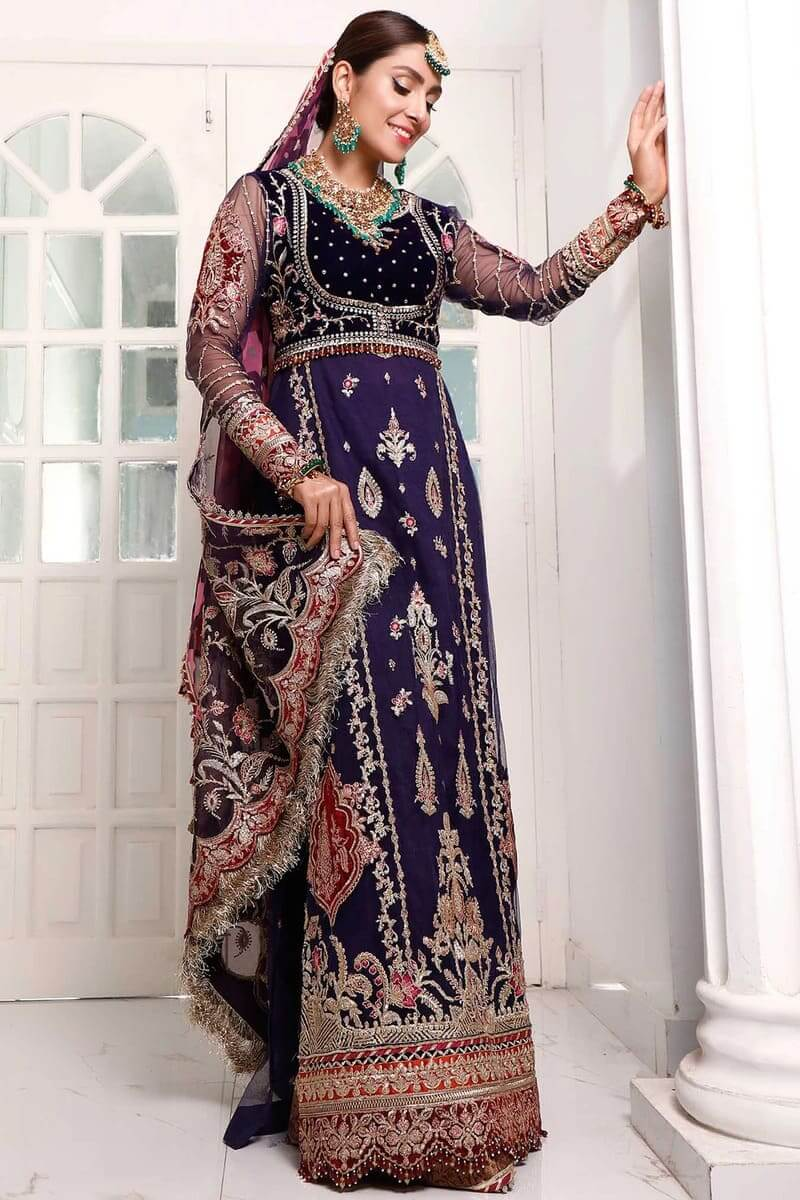 Noor Festive Collection 2020 By Saadia Asad Pakistani Suits D-8