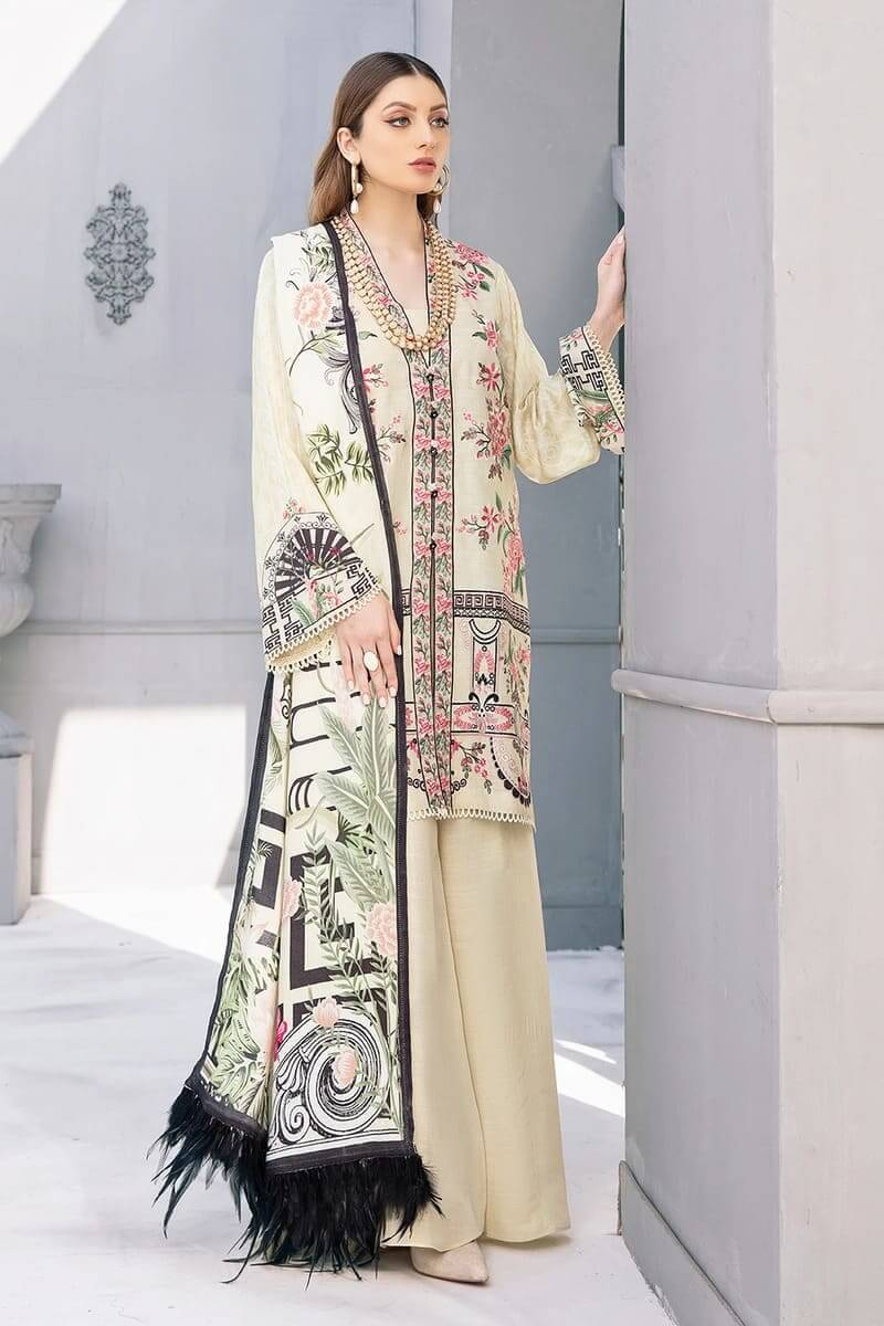 Riwayat by Ramsha linen Collection 2020 Pakistani Suits R-103