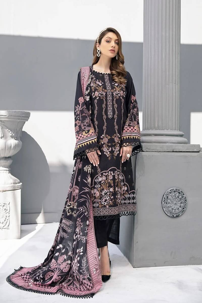 Riwayat by Ramsha linen Collection 2020 Pakistani Suits R-104