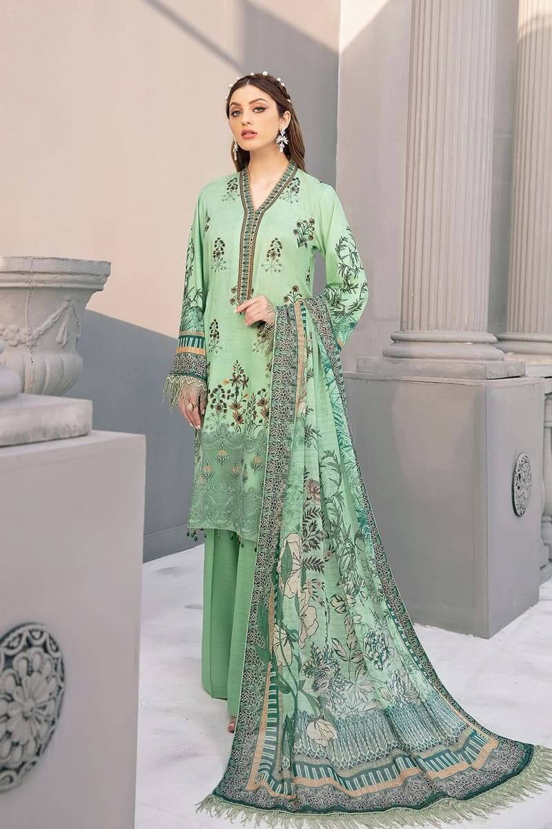 Riwayat by Ramsha linen Collection 2020 Pakistani Suits R-110