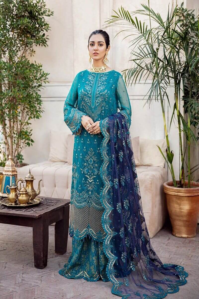 Afrozeh Shehnai Wedding Collection 2020 Pakistani Suits FALAK NAAZ