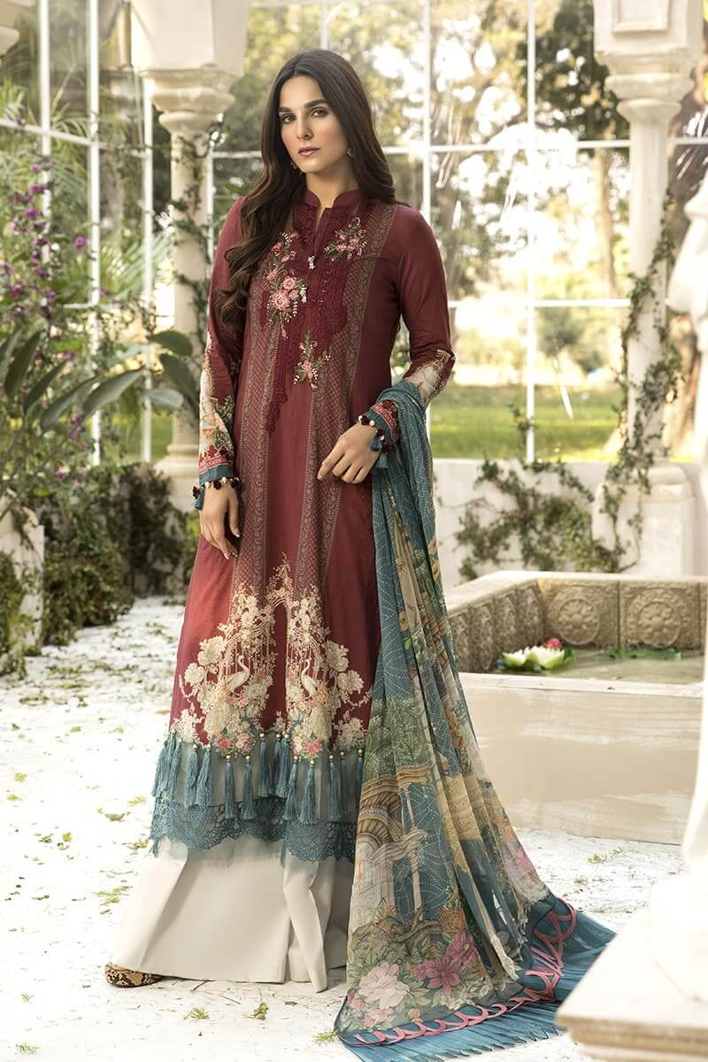M.Prints Summer 2020 By Mariab Pakistani Dresses MPT-801-A