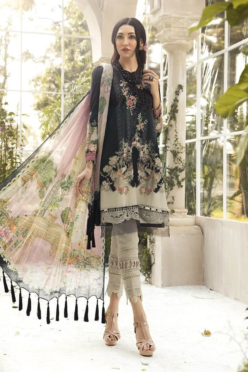M.Prints Summer 2020 By Mariab Pakistani Suits MPT-801-B