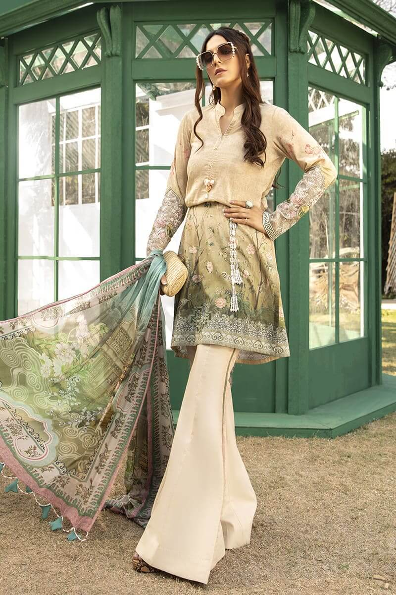 M.Prints Summer 2020 By Mariab Pakistani Dresses MPT-802-A