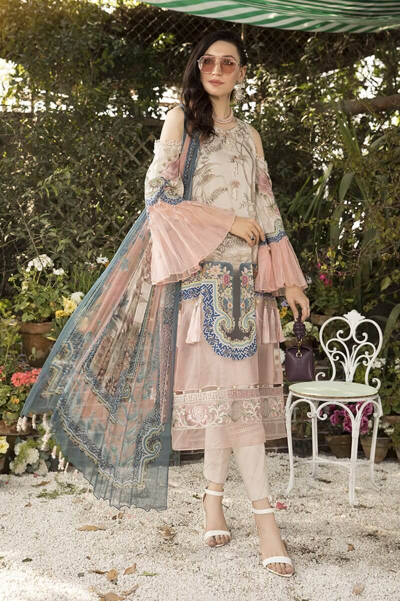 M.Prints Summer 2020 By Mariab Pakistani Dresses MPT-803-A