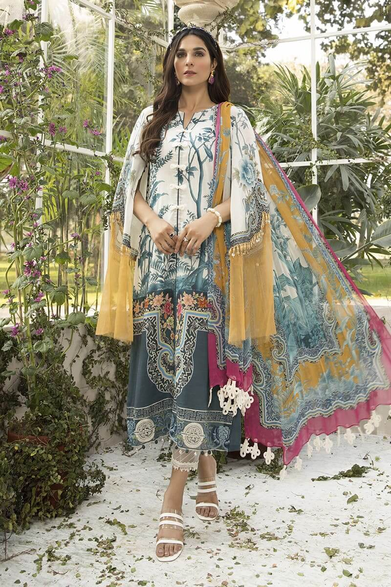 M.Prints Summer 2020 By Mariab Pakistani Suits MPT-803-B