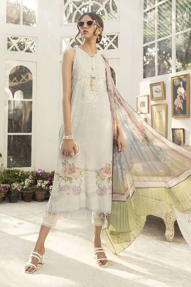 M.Prints Summer 2020 By Mariab Pakistani Suits MPT-806-B