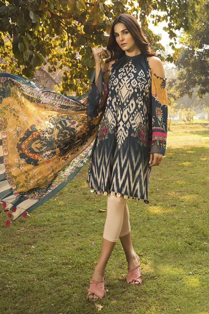 M.Prints Summer 2020 By Mariab Pakistani Dresses MPT-807-A