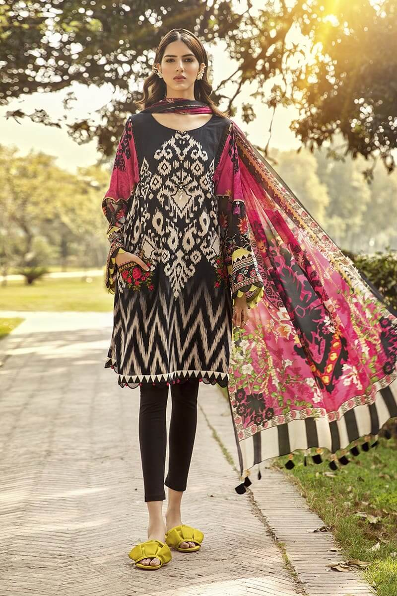 M.Prints Summer 2020 By Mariab Pakistani Suits MPT-807-B
