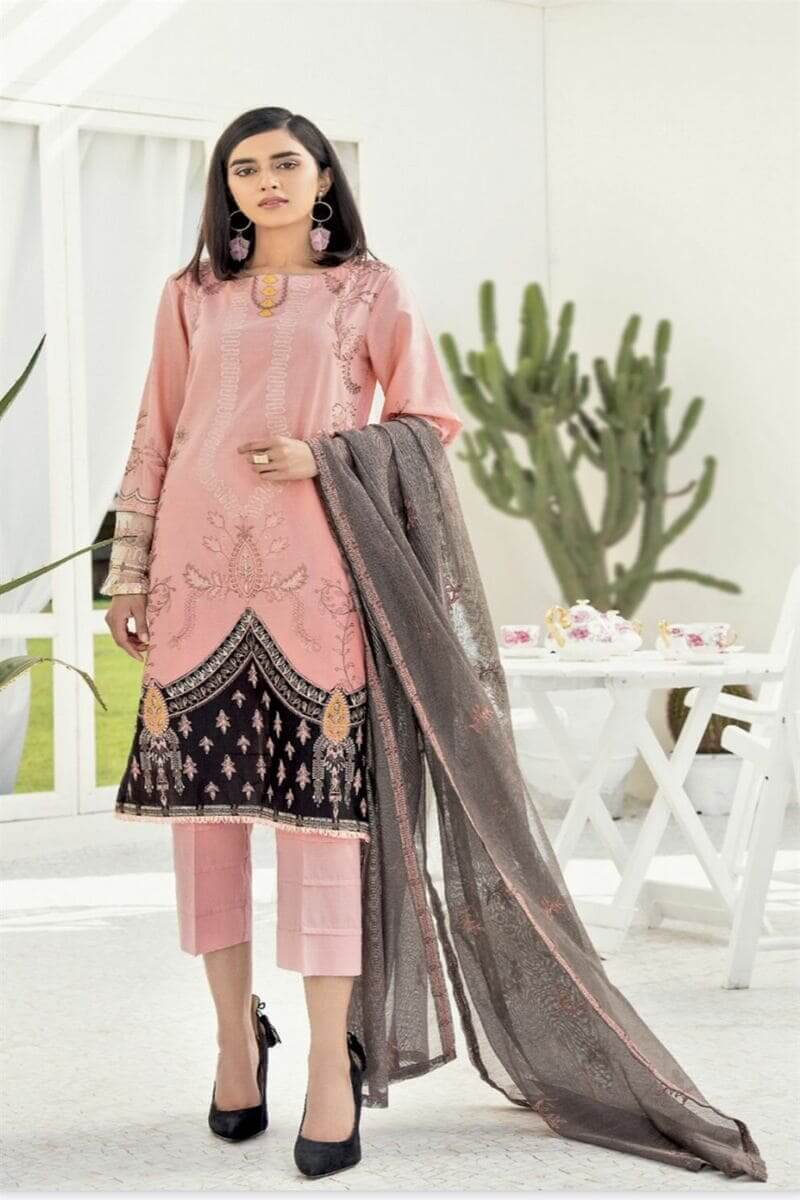 Chinon Lawn 2020 By Iznik Pakistani Salwar Kameez CL20-02 Candy