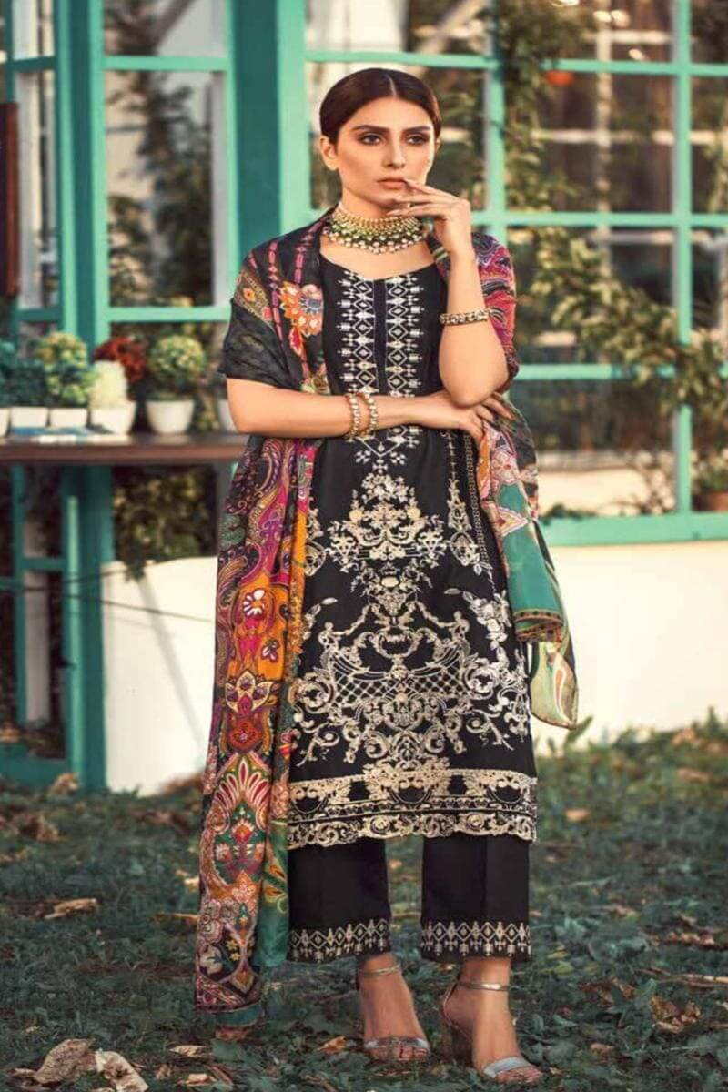 Elaf Summer Luxury Lawn Collection 2020 Pakistani Salwar Kameez D-12