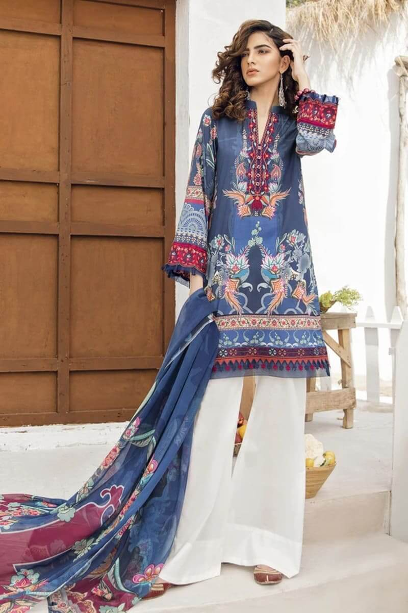 Iznik Guzel Lawn Collection 2020 Designer Suits GL20-06 High Waters