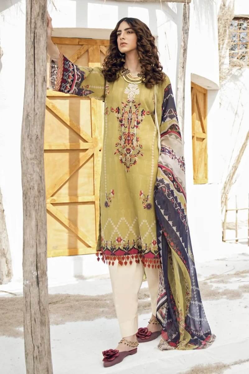 Iznik Guzel Lawn Collection 2020 Designer Suits GL20-09 Ancient Castle