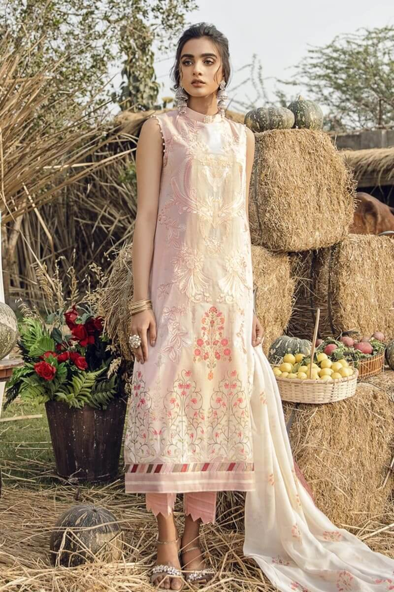 Iznik Guzel Lawn Collection 2020 Designer Suits GL20-11 Cherry Blossoms