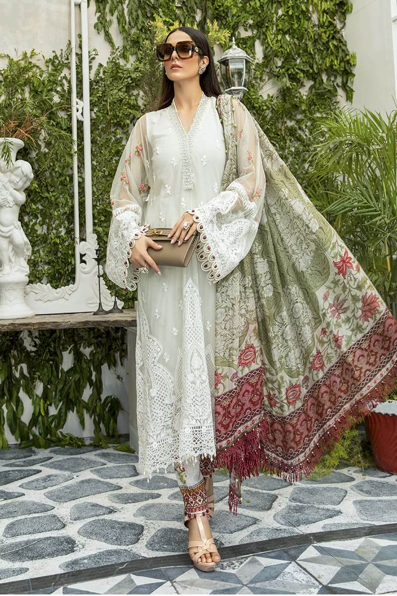 Maria B Lawn Eid Collection 2020 Pakistani Suits EL-20-02