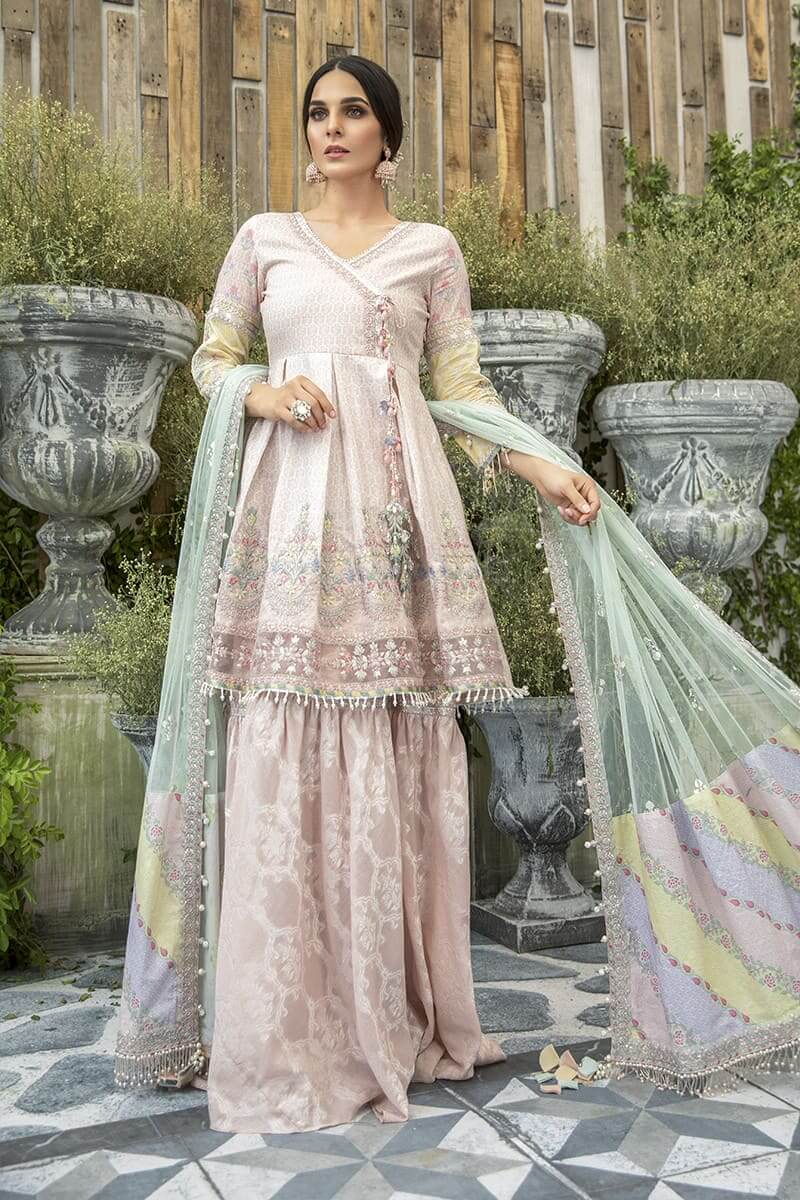Maria B Lawn Eid Collection 2020 Pakistani Suits EL-20-03