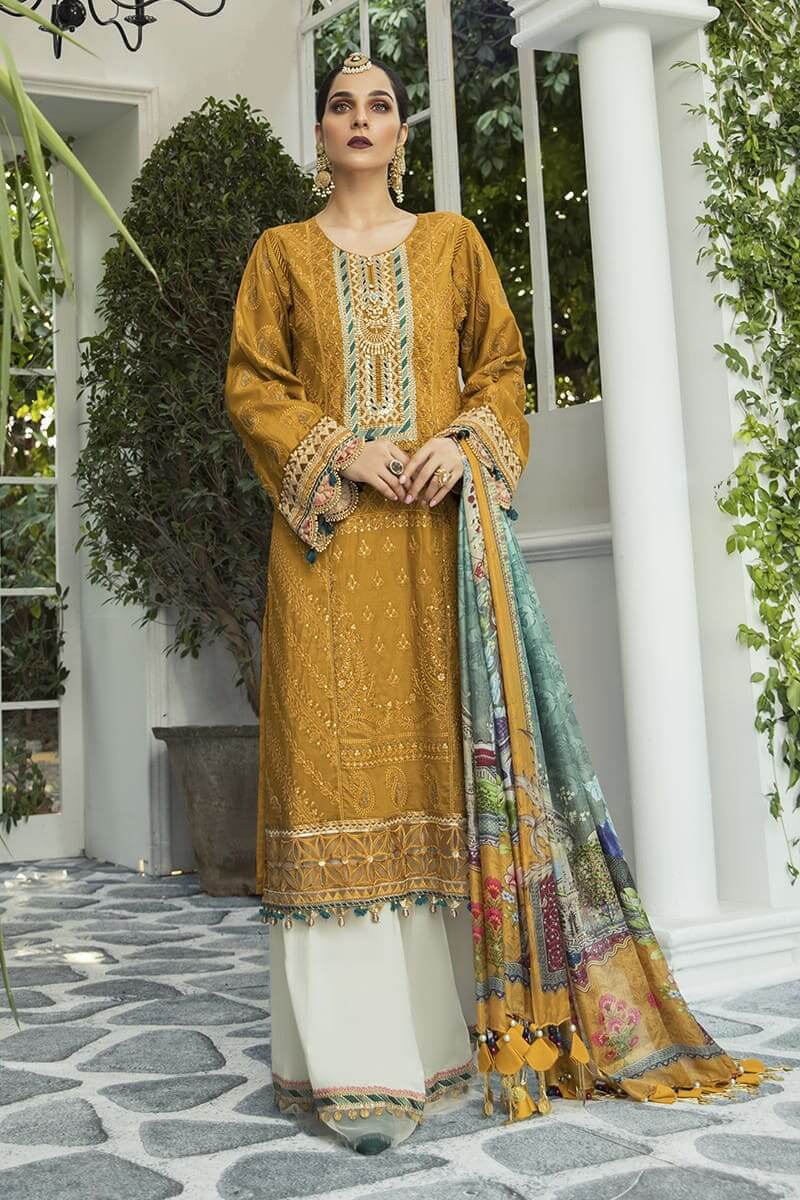 Maria B Lawn Eid Collection 2020 Pakistani Suits EL-20-04