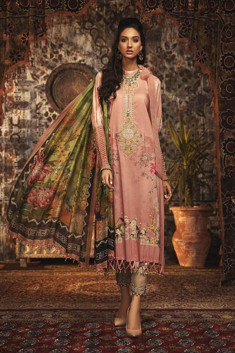 MARIAB MPrints Winter Collection 2020 Pakistani Suits MPT-903-A