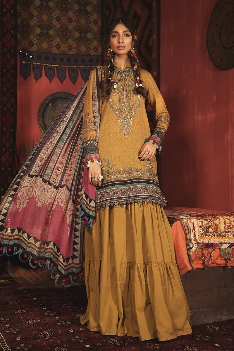 MARIAB MPrints Winter Collection 2020 Pakistani Suits MPT-904-A