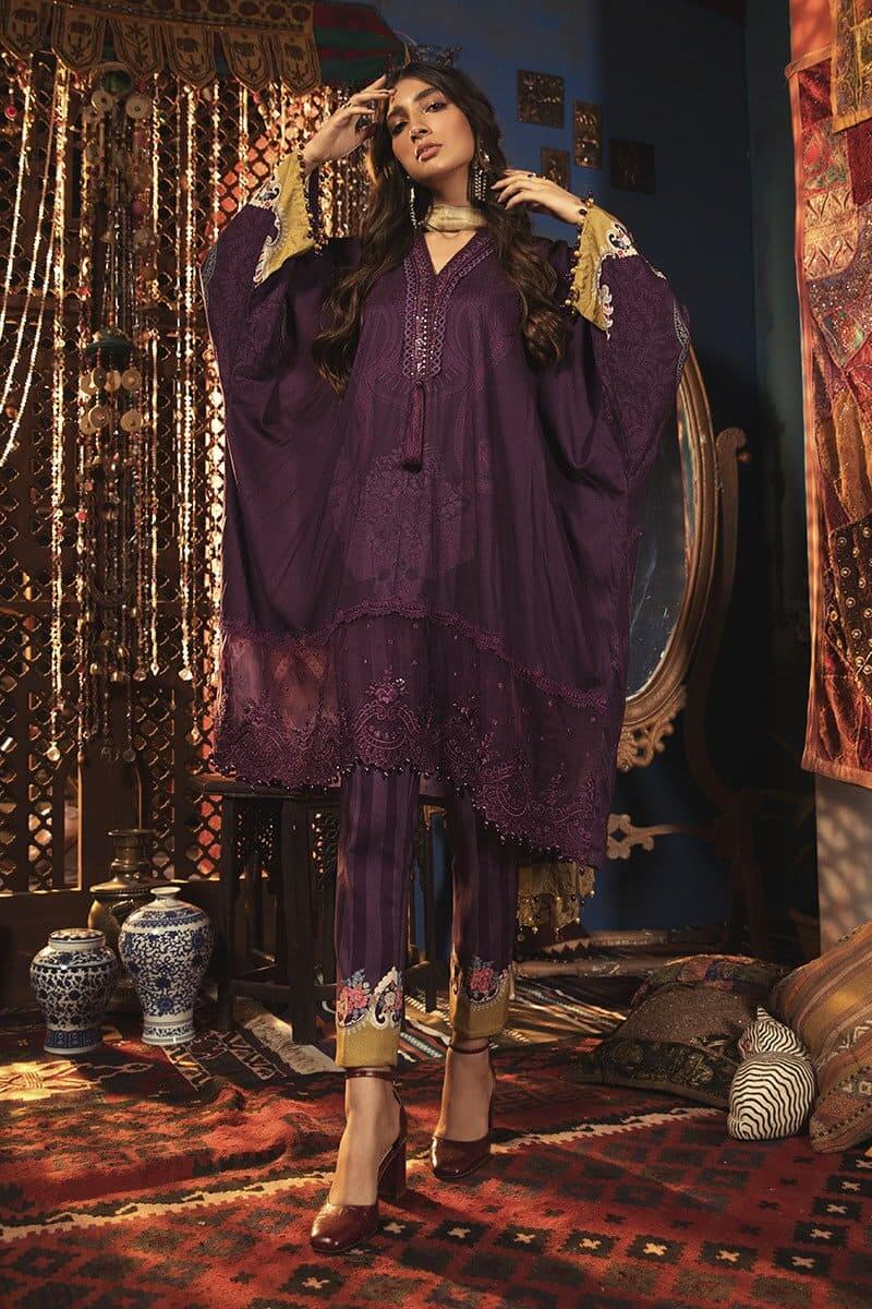 MARIAB MPrints Winter Collection 2020 Pakistani Suits MPT-905-A