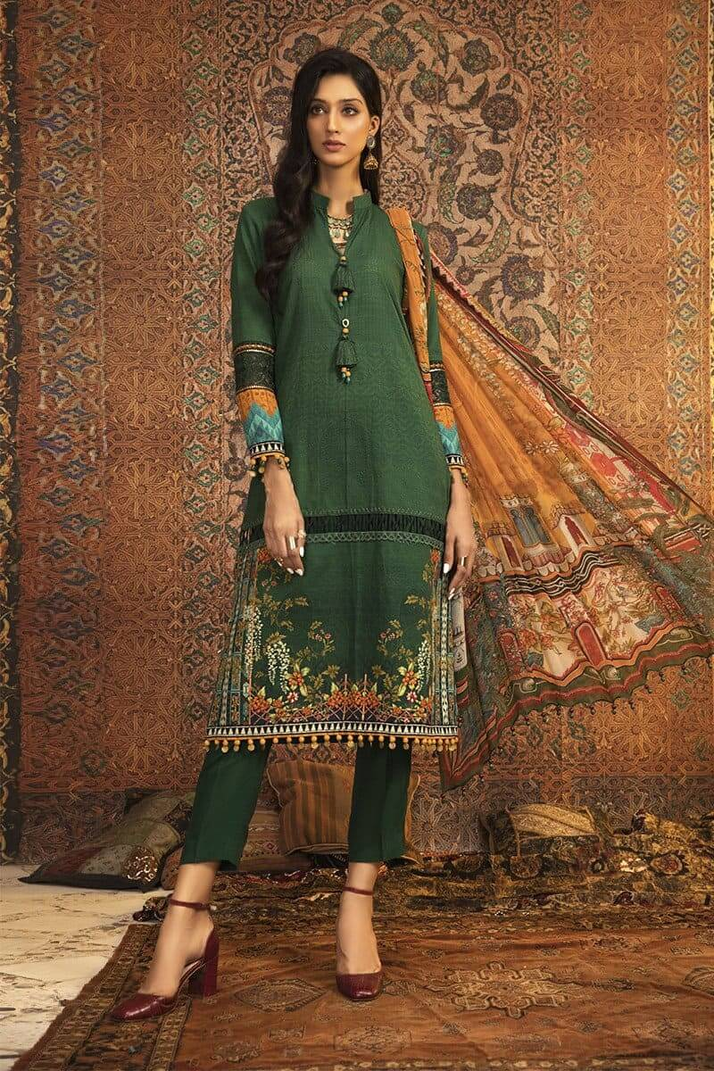 MARIAB MPrints Winter Collection 2020 Pakistani Suits MPT-906-A