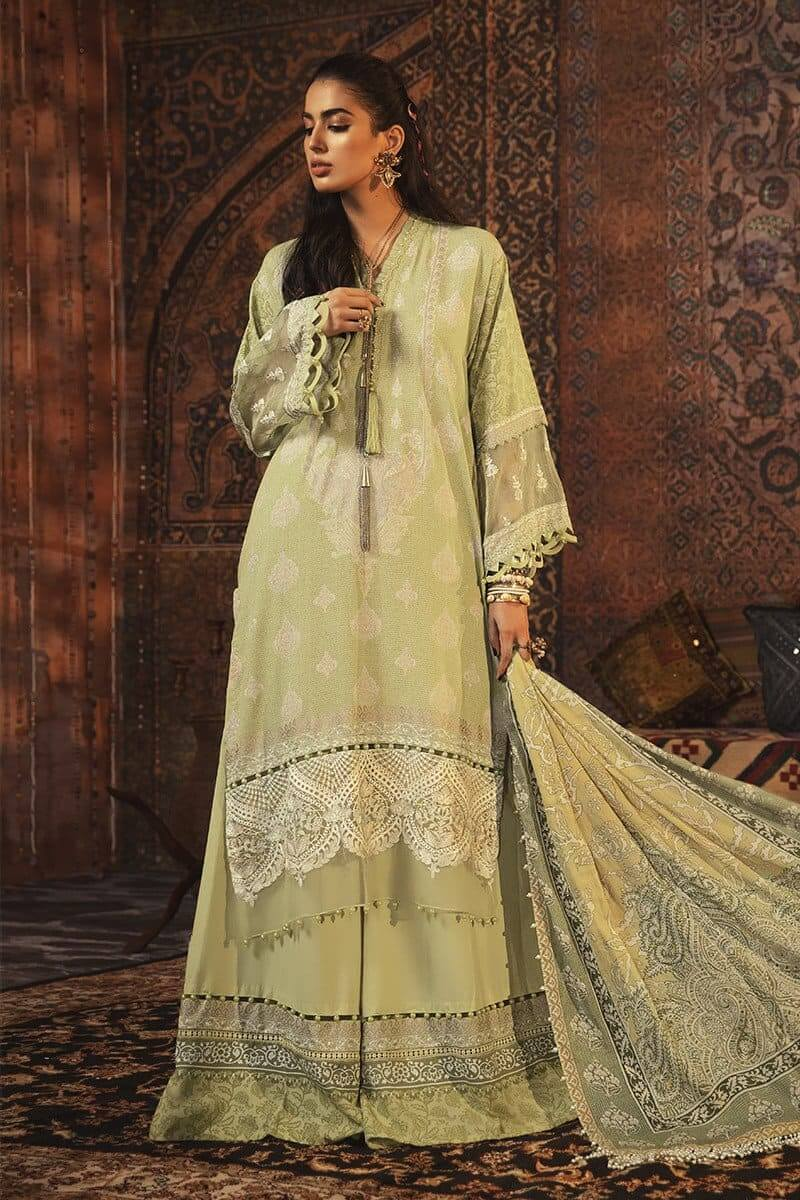 MARIAB MPrints Winter Collection 2020 Pakistani Suits MPT-909-A