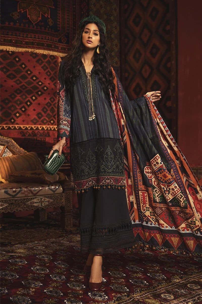 MARIAB MPrints Winter Collection 2020 Pakistani Dresses MPT-911-B