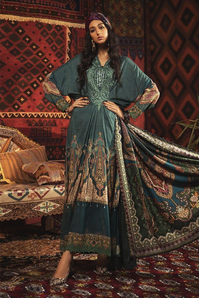 MARIAB MPrints Winter Collection 2020 Pakistani Suits MPT-913-A