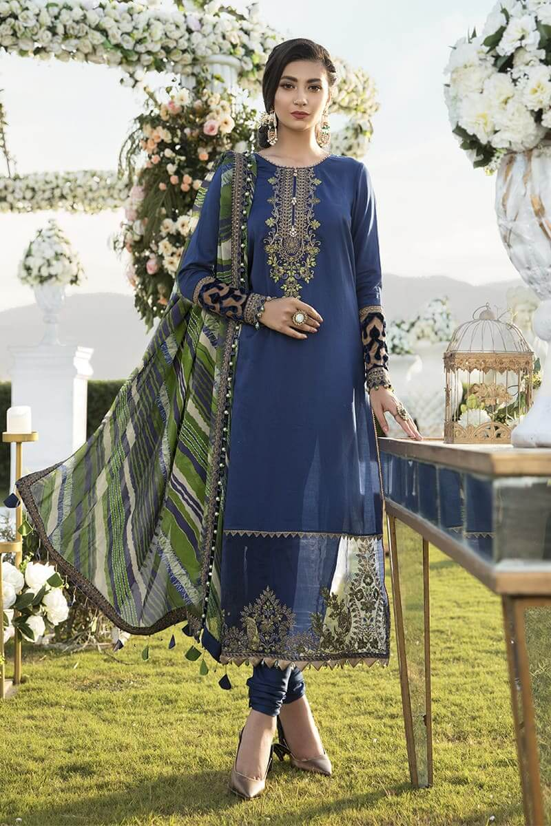 MariaB Sateen Fall Winter Collection 2020 Pakistani Suits CST-301