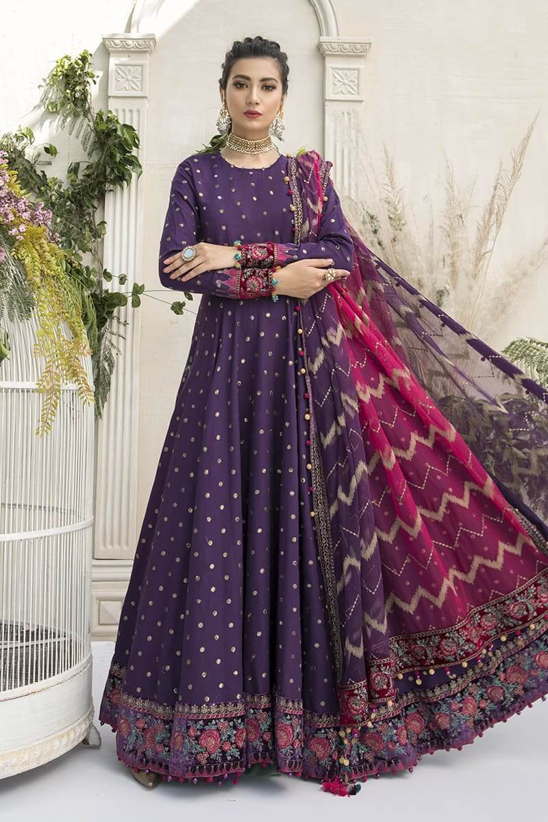 MariaB Sateen Fall Winter Collection 2020 Pakistani Suits CST-306