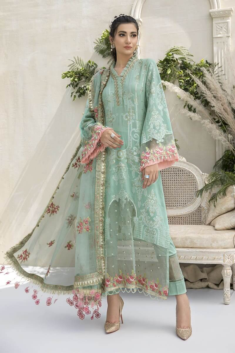 MariaB Sateen Fall Winter Collection 2020 Pakistani Suits CST-308
