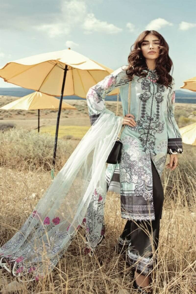 Rouche Luxury Signature Summer Lawn Collection 2020 Pakistani Suits 05