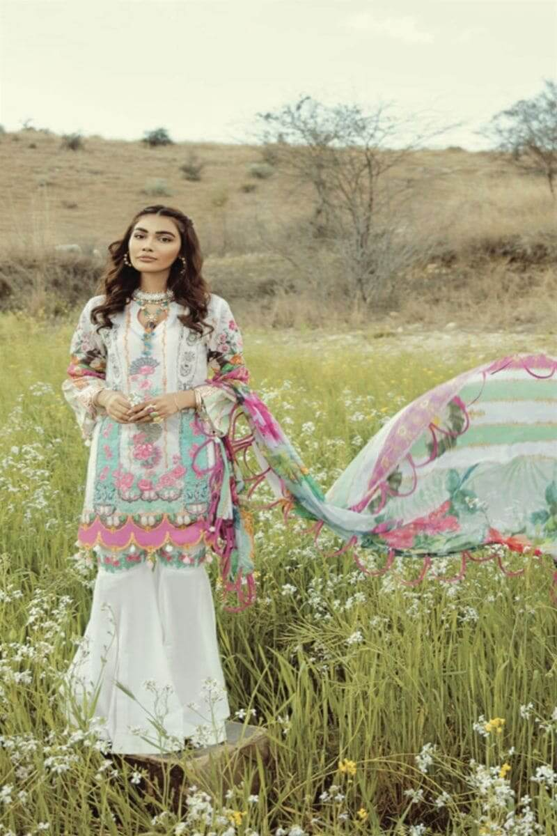 Rouche Luxury Signature Summer Lawn Collection 2020 Pakistani Suits 07