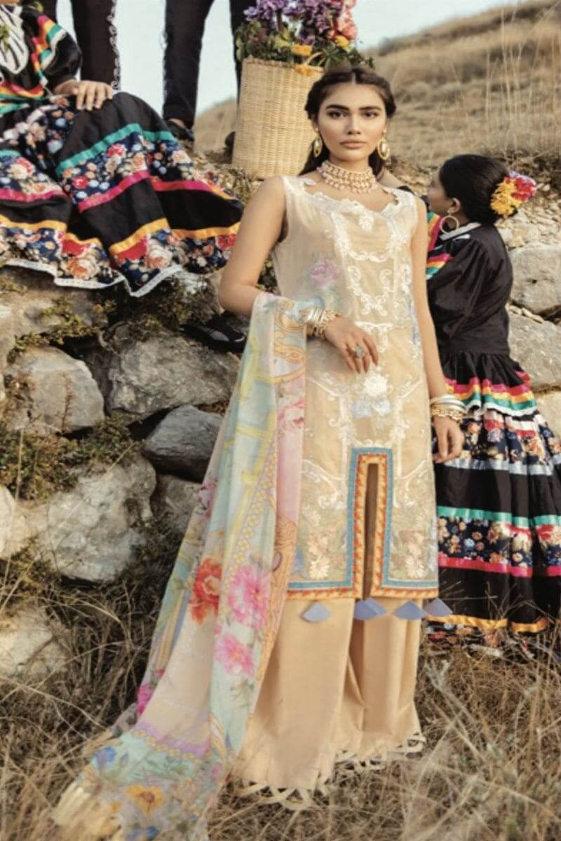 Rouche Luxury Signature Summer Lawn Collection 2020 Pakistani Suits 09