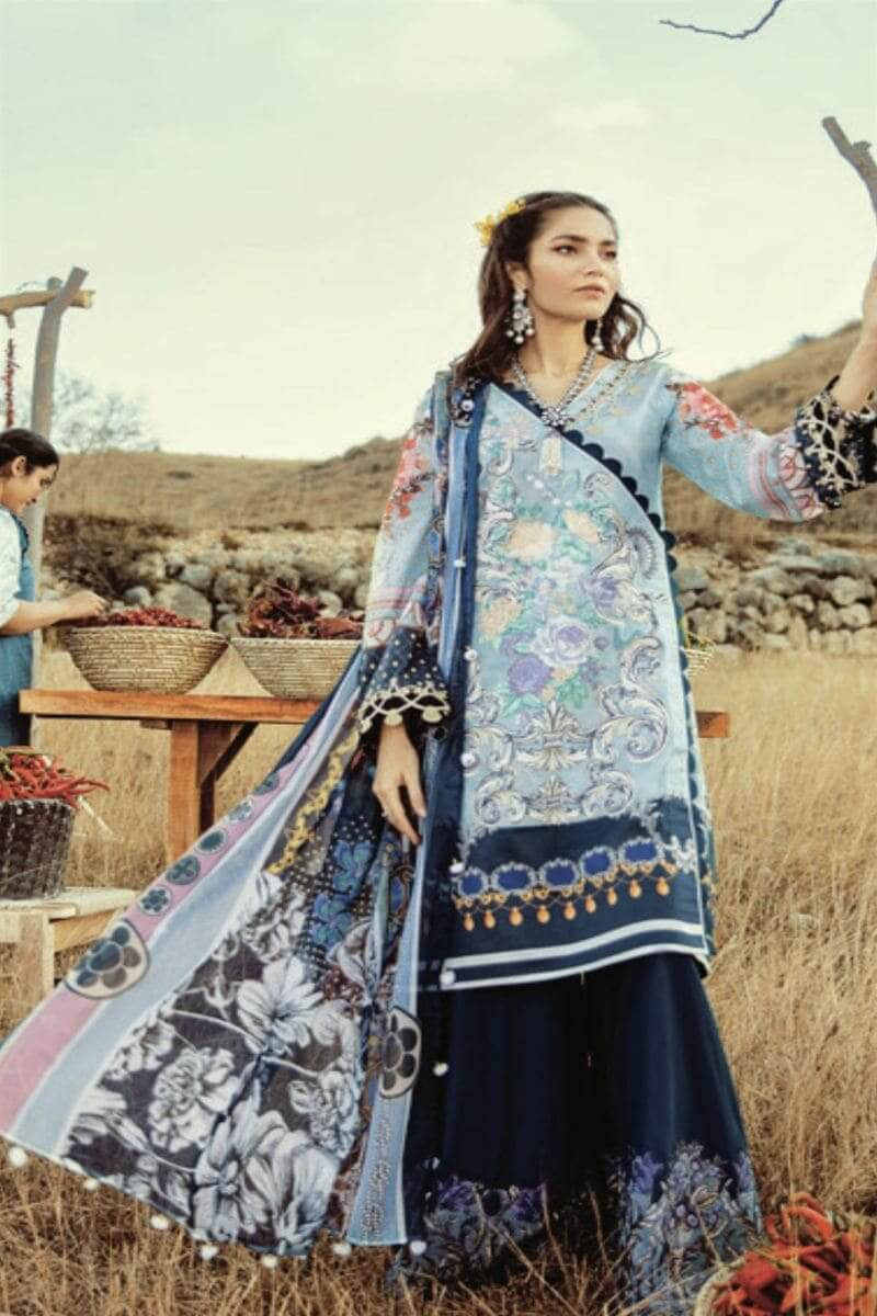 Rouche Luxury Signature Summer Lawn Collection 2020 Pakistani Suits 10