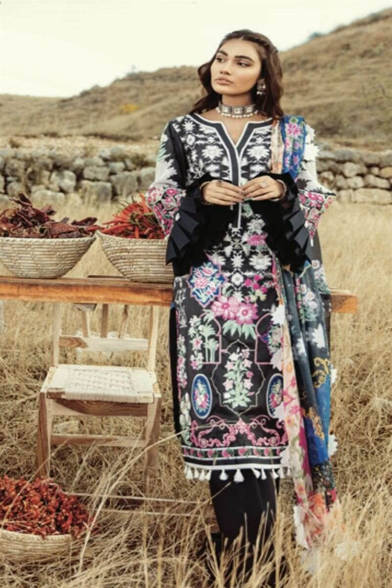 Rouche Luxury Signature Summer Lawn Collection 2020 Pakistani Suits 11