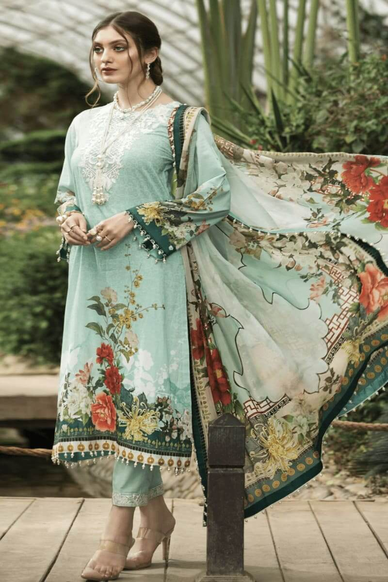 Pakistani Suits Afrozeh Sienna Lawn Collection 2020 05 Pansy