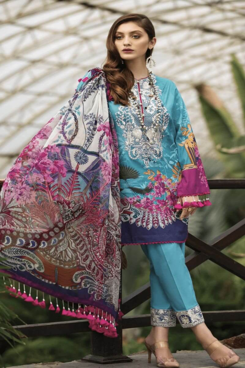 Pakistani Suits Afrozeh Sienna Lawn Collection 2020 06 Tinkerbelle